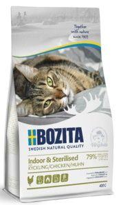 Bozita Indoor & Sterilised корм длядомашних истерилизованных кошек с курицей и рисом