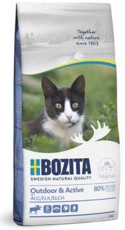 Bozita Outdoor & Active корм для активных кошек с курицей, рисом и мясом лося