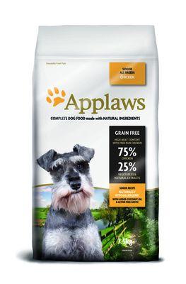 Applaws «Chicken Senior» для пожилых собак, беззерновой (с курицей)